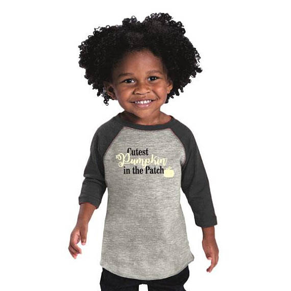 Cutest Pumpkin In The Patch Toddler Baseball Jersey