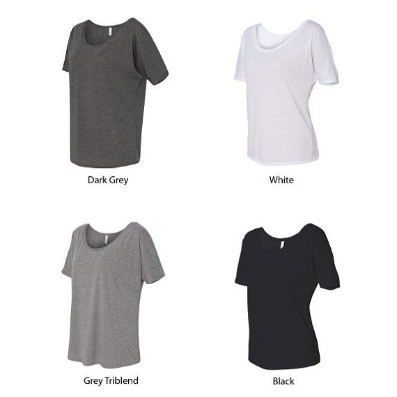 Bridesmaid Bella Canvas Women's Slouchy Tee
