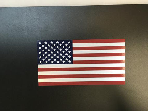 American Flag Oralite Reflective Outdoor Durable Decal