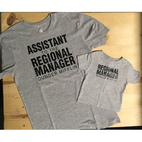 Regional Manager & Assistant to Regional Manager Dunder Mifflin The Office Combo Set