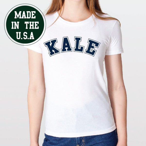 Made in the USA Ladies Kale Shirt
