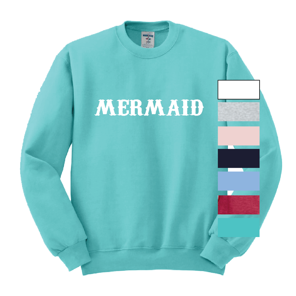 Mermaid Crewneck Sweatshirt