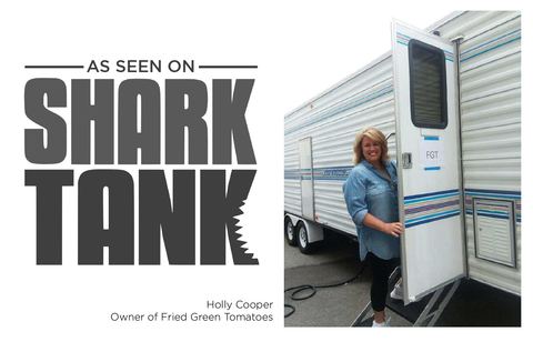 Fried Green Tomatoes Food Truck Shark Tank Barbara Holly Cooper