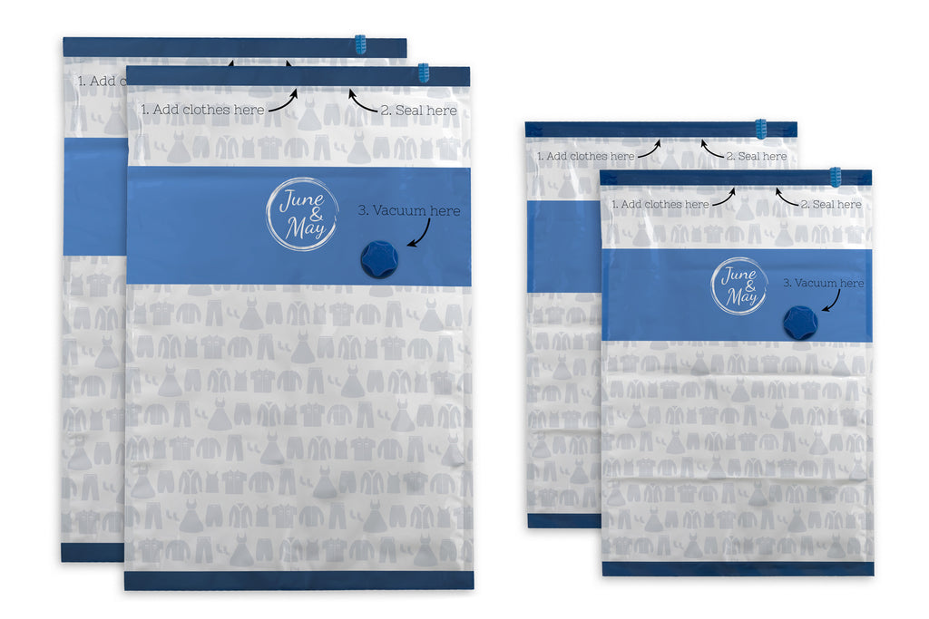 June & May Vacuum Travel Kit - Extra Bags