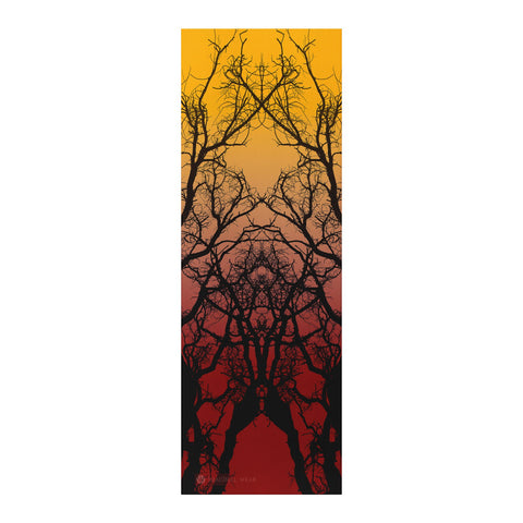 Oaken Yoga Mat | Flame