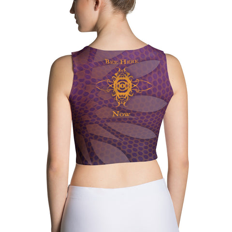 Bee Here Now Women's Crop Top