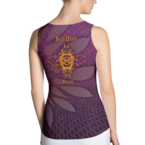 Bee Here Now Women's Tank Top