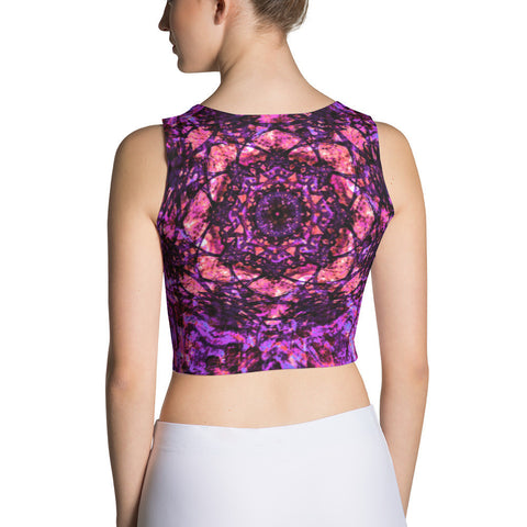 Celestial Fuchsia Women's Crop Top
