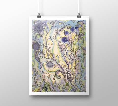 Dream Seed ~ Fine Art Print - Art print - Imaginal Wear