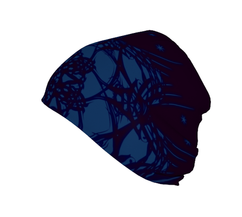 """Portal"" Beanie ~ Blue/Purple - Beanie - Imaginal Wear - 1"
