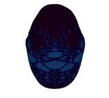 """Portal"" Beanie ~ Blue/Purple - Beanie - Imaginal Wear - 4"