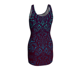 """Lotus"" ~ Bodycon Dress - Bodycon dress - Imaginal Wear - 3"