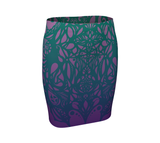 Water Sylph Fitted Skirt
