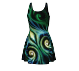 Winged Soul Flare Dress