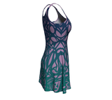 Water Sylph Flare Dress