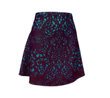 Lotus A-Line Flare Skirt