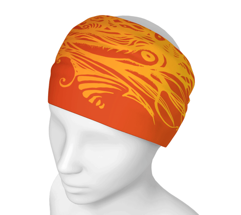 Sunset Owl Headwrap/Dust Mask/Scarf