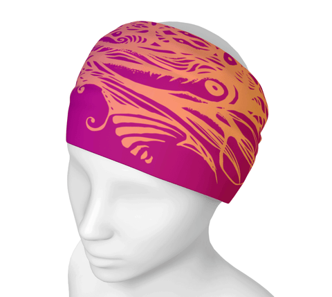 Flame Owl Headwrap/Dust Mask/Scarf