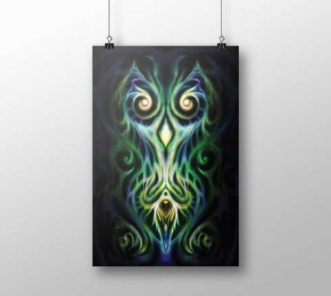 Winged Soul ~ Poster - Poster - Imaginal Wear