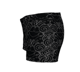 """Sacred Spiral"" ~ Athletic Shorts ~ Black - Shorts - Imaginal Wear - 2"
