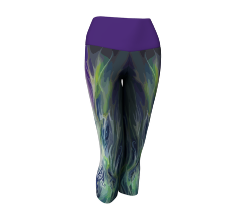 Astral Flame Capris