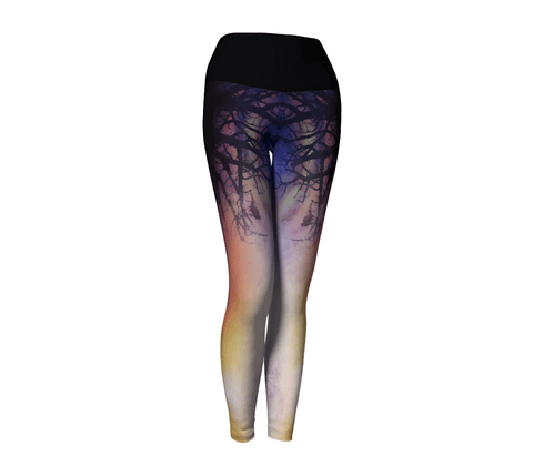 """Twilight"" ~ Yoga Leggings - Yoga Leggings - Imaginal Wear - 1"