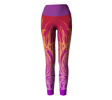 Flame Owl Leggings