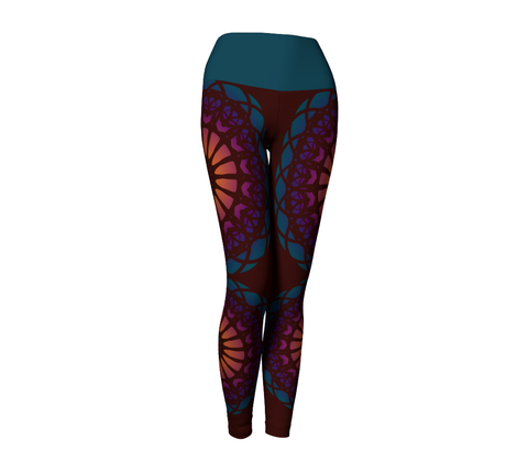 Shakti Leggings | Burgundy