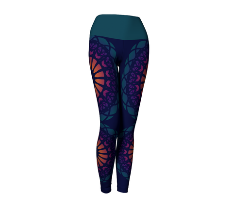 Shakti Leggings | Navy