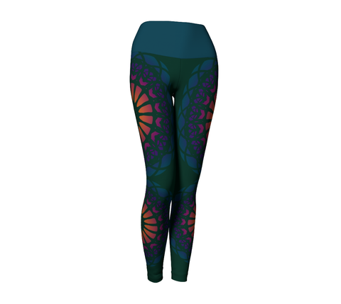 Shakti Leggings | Teal