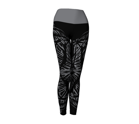 Matrix Dimension Leggings | Black