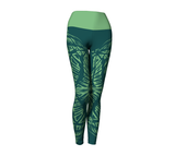Matrix Dimension Leggings | Teal