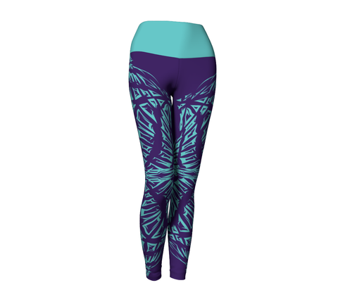 Matrix Dimension Leggings | Purple