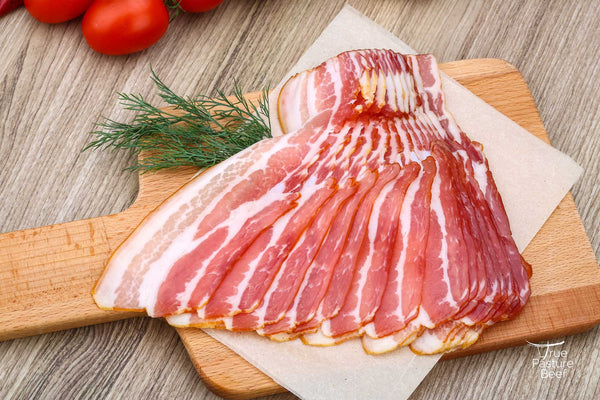Pastured Pork Bacon, Fresh Side