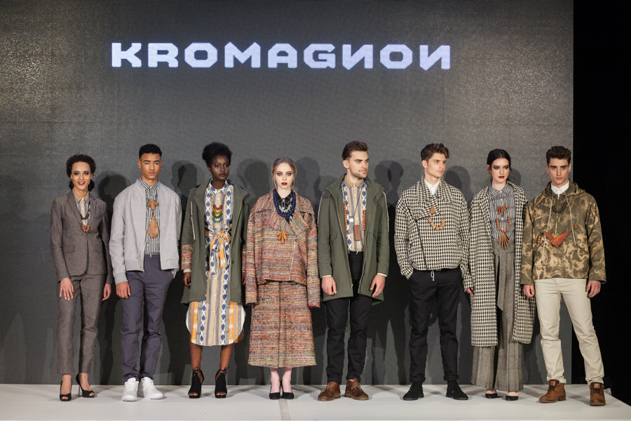 KROMAGNON Fall/Winter 2017 looks in a presentation line up