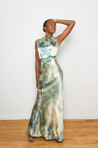 Sunset Sky Evening Gown