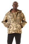 Mens Army Anorak front view