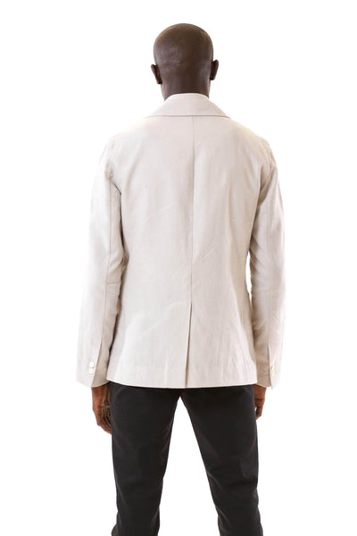 Mens Unstructured Blazer back view