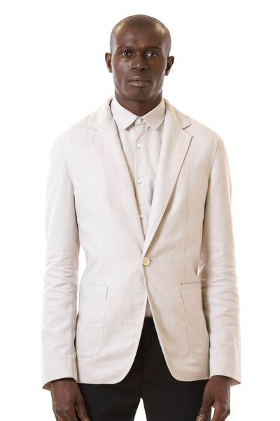 Mens Unstructured Blazer front view