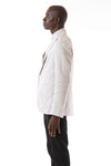 Mens Unstructured Blazer side view
