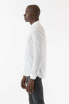 Mens Soft/Sheer button shirt side view