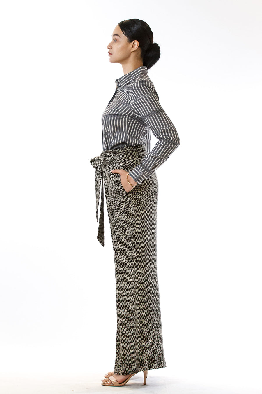 Womens Tie Waisted Pants