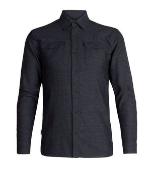 ICE BREAKER CHEMISE LODGE FLANNEL LS