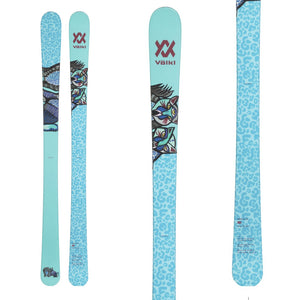 VOLKL SKI BASH W JUNIOR / FIXATION 7.0 VMOTION JR / 2021