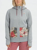 BURTON CHANDAIL OAK FULL-ZIP FEM.