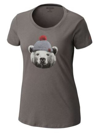 COLUMBIA T-SHIRT UNBEARABLE FEM.