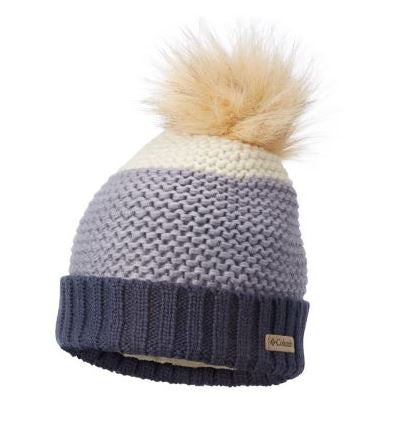 COLUMBIA TUQUE HOLLY PEAK POMPOM