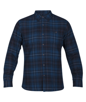 HURLEY CHEMISE KURT LONG SLEEVE