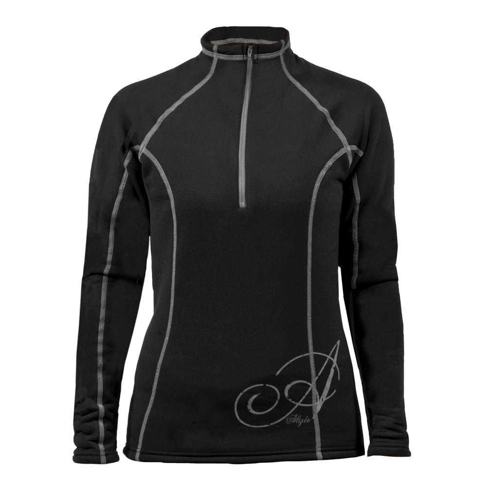 ALIZEE CHANDAIL TECHNO POWER STRETCH 1/2 ZIP FEM.