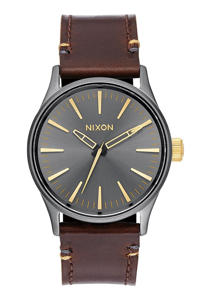 Nixon Sentry 38 Leather Montre Reno Sport Victoriaville